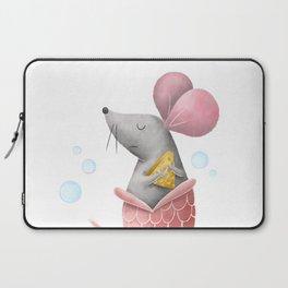 Mermouse Illustration Laptop Sleeve