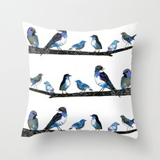 Painted Version.  Throw Pillow