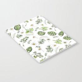 Scattered Garden Herbs Notebook