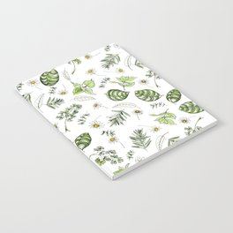 Scattered Garden Herbs Notebook
