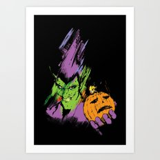 The Green Goblin Art Print