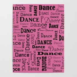 Just Dance - Pink Poster