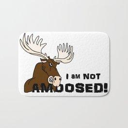 I Am Not Amoosed Bath Mat