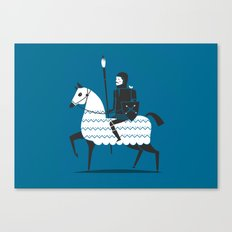 fight with your art  Canvas Print
