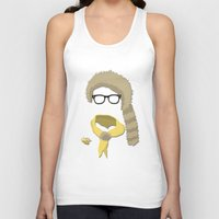 sam smith Tank Tops featuring Sam by John McKeever