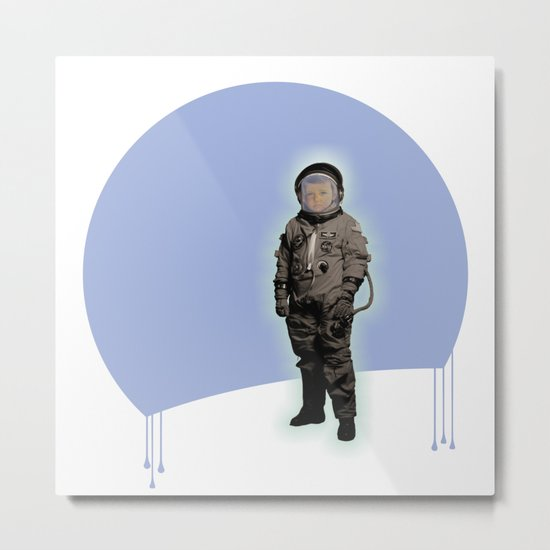 astronaut boy Metal Print