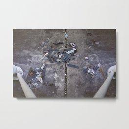 Skates Cementery Metal Print