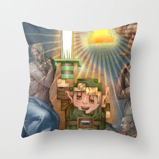 IRL Zelda Link Throw Pillow