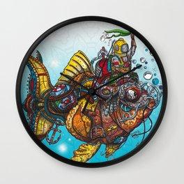 """Kelps"" Seabed Tales Wall Clock"