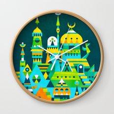 Structura 7 Wall Clock