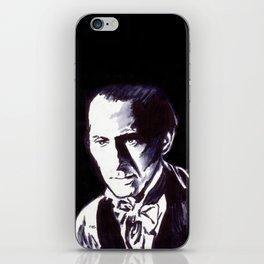 The Gentle Man of Horror iPhone Skin