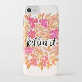 Killin' It – Melon Ombré iPhone Case