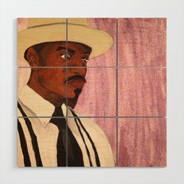 Andre 3000 Wood Wall Art
