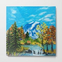 Mt. Rainier Beauty Metal Print