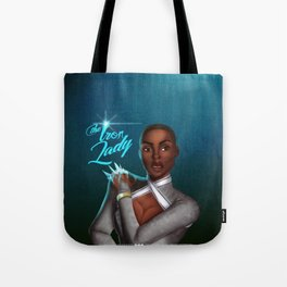 The Iron Lady - Blue Version Tote Bag
