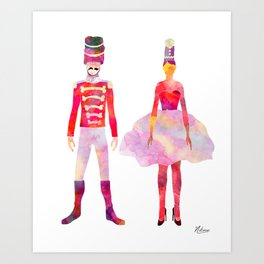 Nutcracker Ballet Art Print
