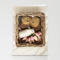 cookie Stationery Cards featuring Cookie by Noura Aljarbou