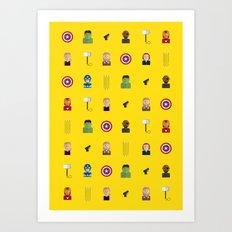 Avenger Art Print