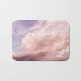 Perfect Pink Summer Sky Nature Photography Bath Mat