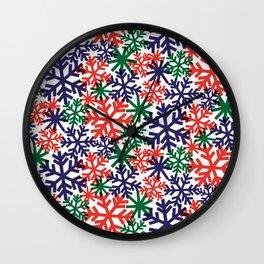 CHRISTMAS SNOWFLAKE Wall Clock