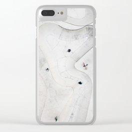 Skatepark 3 Clear iPhone Case