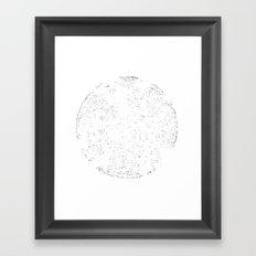 STRR_CHRT Framed Art Print