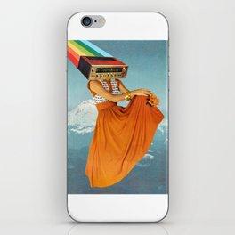 Octave Orange iPhone Skin