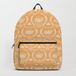 Queen Bee - Royal Crown in Honey Orange Backpack