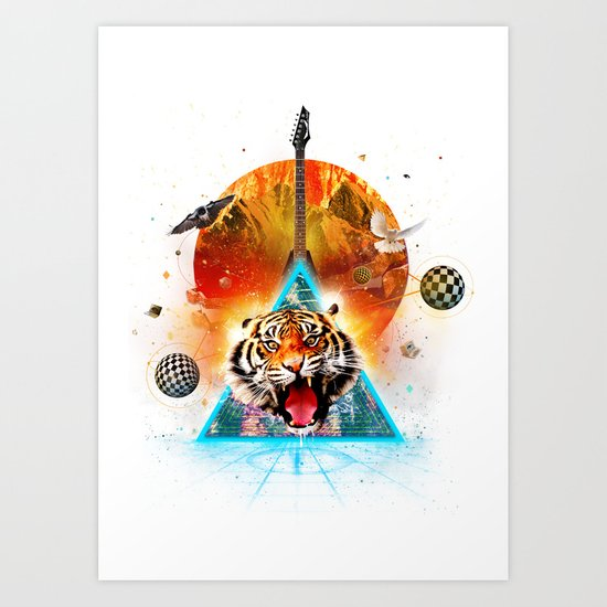 ERR-OR: Tiger Connection Art Print