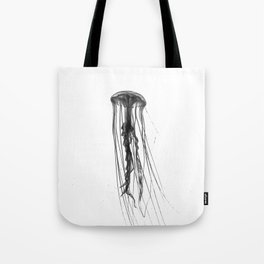 Jellyfish Silhouette Tote Bag