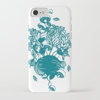 vegetables iPhone & iPod Cases featuring Vegetables  by Sarah Dennis