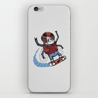 marty mcfly iPhone & iPod Skins featuring Marty McFLY by Timo Ambo