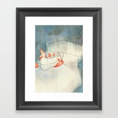 I Aged 58 Years Overnight Framed Art Print