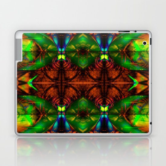 Golden Tapestry Laptop & iPad Skin