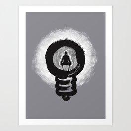 I-dea of Zen Art Print