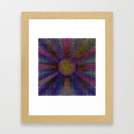 Evolved Sun Framed Art Print