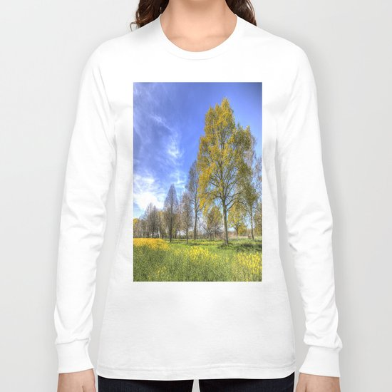 Summertime Farm England Long Sleeve T-shirt