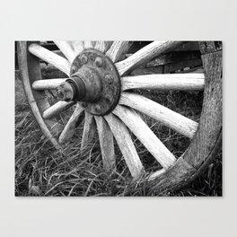 Wagon Wheel #3 Canvas Print