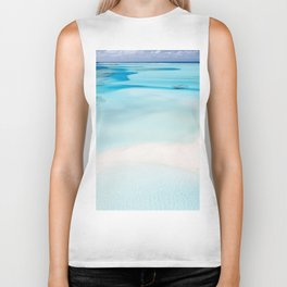 Island and Water (Color) Biker Tank