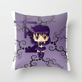 Sailor Saturn Throw Pillow