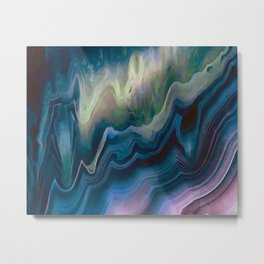Colorful agate III Metal Print