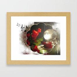 Crystal Earth Light Framed Art Print