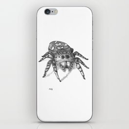 Inktober 2016: Jumping Spider iPhone Skin