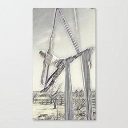 Aerial Dancer Canvas Print