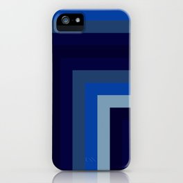 Blue Number 1 iPhone Case