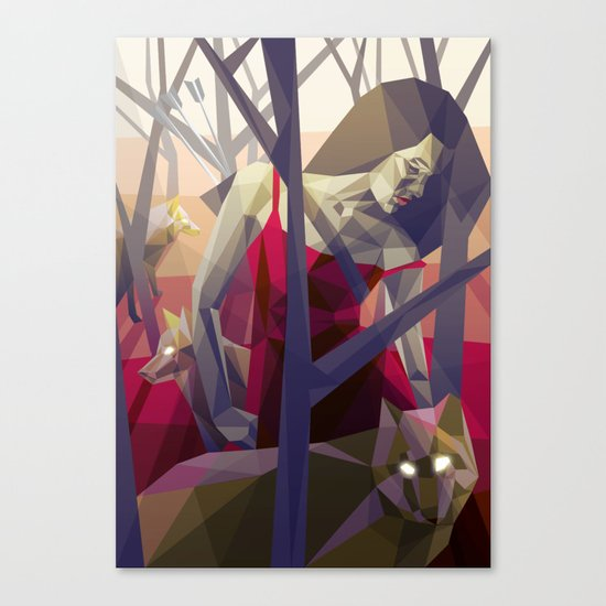 Of the hunt Canvas Print
