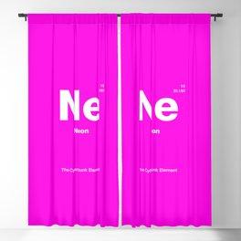 Neon Blackout Curtain