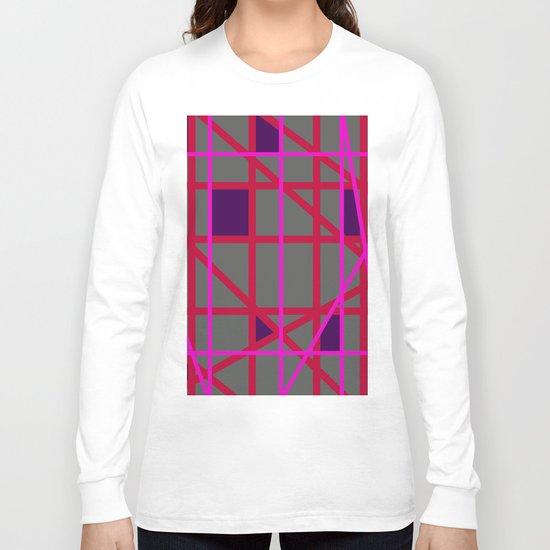Abstract RF Long Sleeve T-shirt