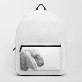 Black and White Sheep Backpack