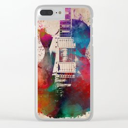 guitar art #guitar Clear iPhone Case
